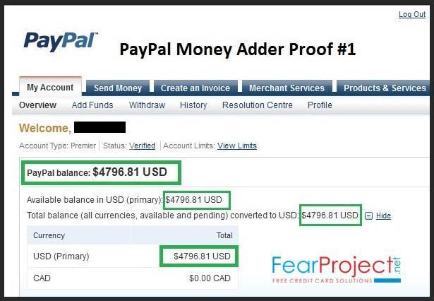 Working Paypal Money Adder 2018 No Survey No Human